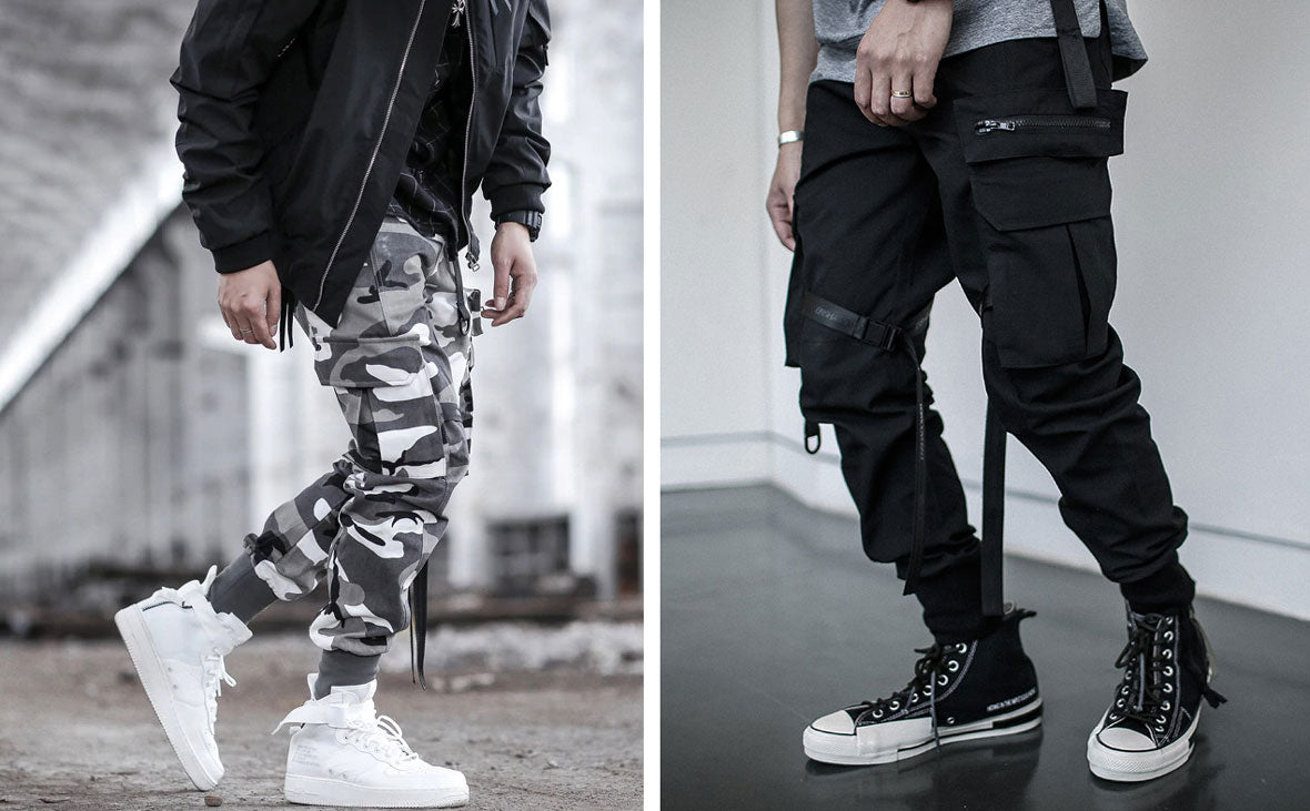 cool and casual cargo pants in streetwear style