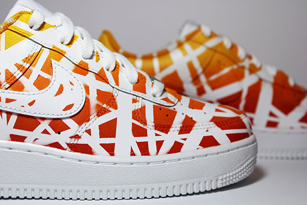 "Nike Air Force 1 Custom ""Sunset"""