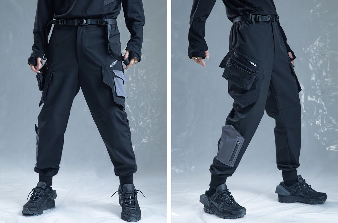 streetwear cargo pants influenced by the military world