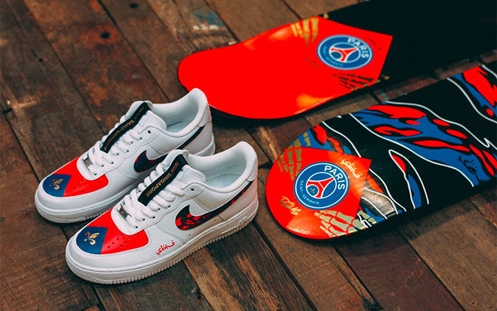 Nike Air Force 1 Custom PSG