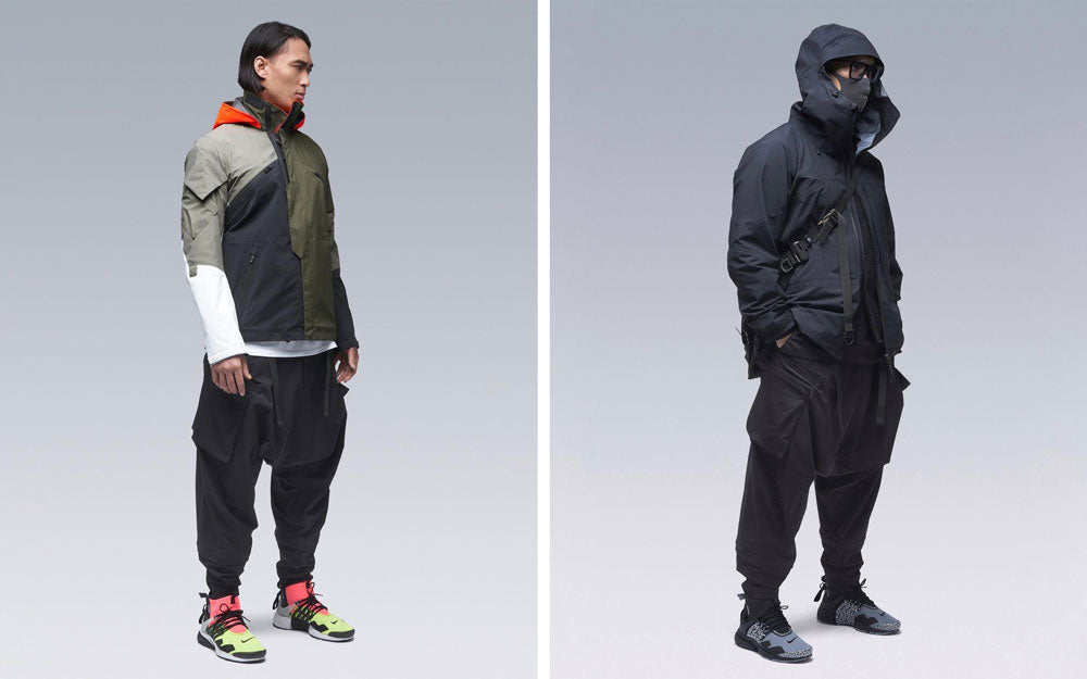 vetements techwear technique