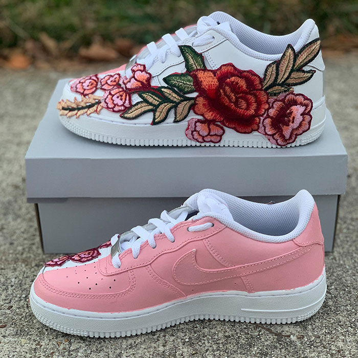 "Nike Air Force 1 Custom ""Floral""-TENSHI™"