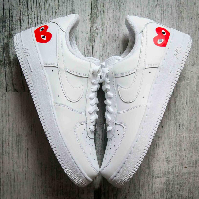 "Nike Air force 1 Custom ""Comme des Garcons""-TENSHI™"