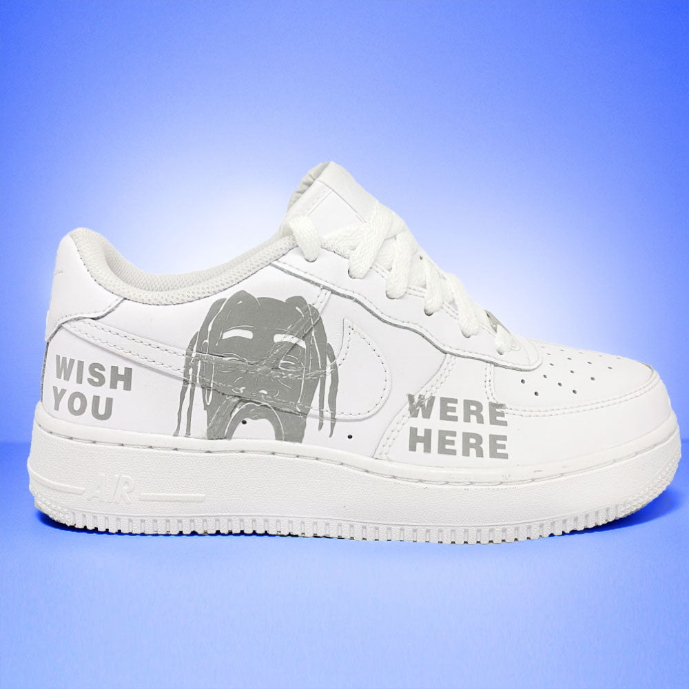 "Nike air force 1 Custom ""Astro World"" REFLEKTIV-TENSHI™"