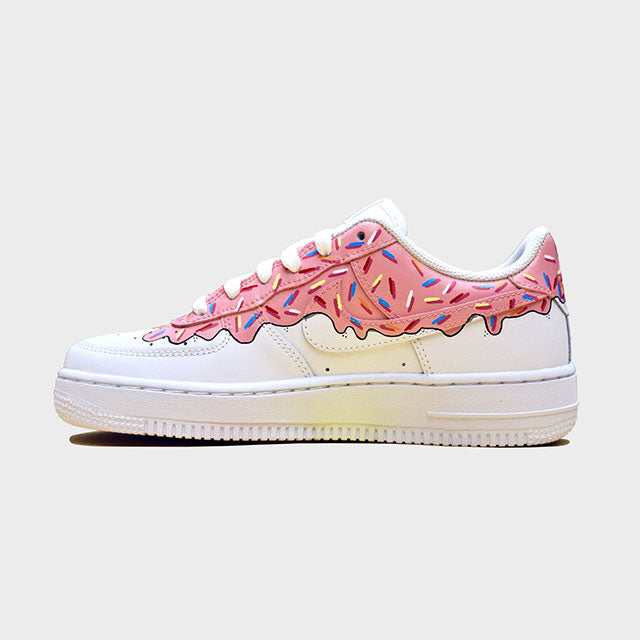 "Nike air force 1 Custom ""Donuts""-TENSHI™"