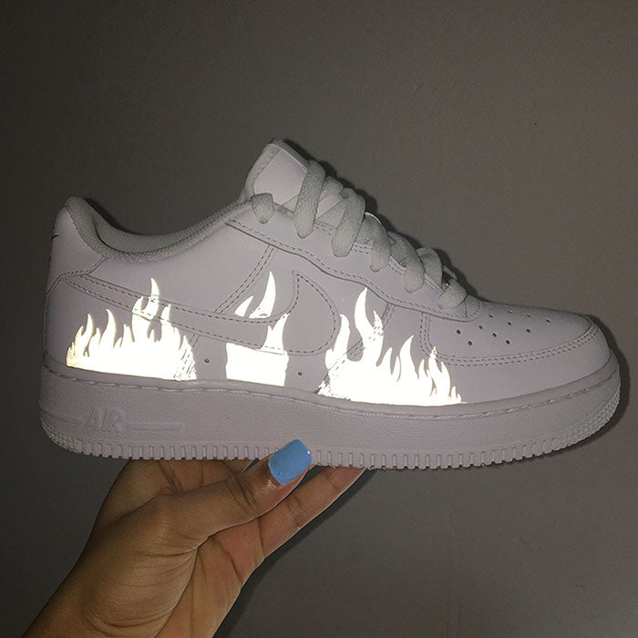 "Nike air force 1 Custom ""Flame"" REFLEKTIV-TENSHI™"
