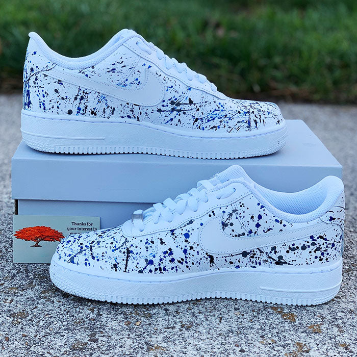"Nike Air Force 1 Custom ""Splash""-TENSHI™"