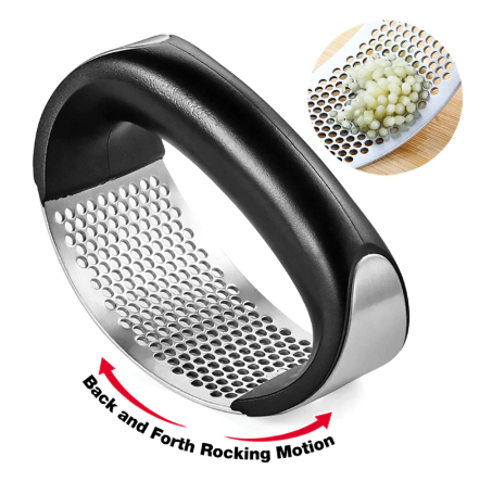 AMAZING GARLIC PRESS CRUSHER SQUEEZER (BUY 1 TAKE  )