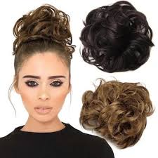 How to apply hair scrunchies