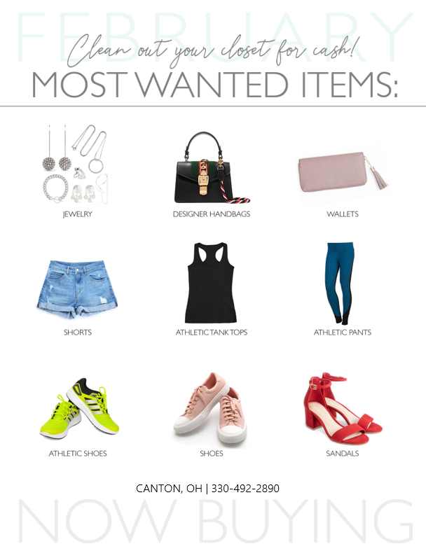 Most Wanted Items