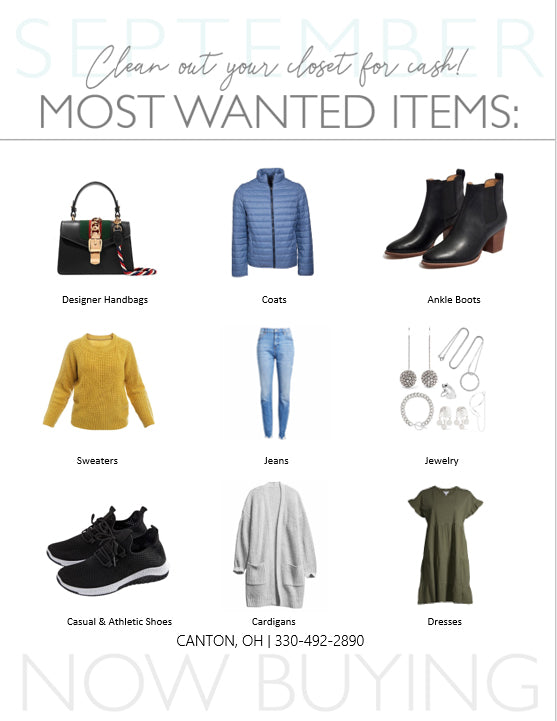 September Most Wanted