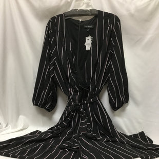 Primary Photo - BRAND: LANE BRYANT STYLE: DRESS LONG LONG SLEEVE COLOR: BLACK WHITE SIZE: 2X OTHER INFO: JUMPSUIT, SIZE 24 SKU: 155-155224-18090
