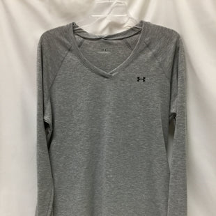 Primary Photo - BRAND: UNDER ARMOUR STYLE: ATHLETIC TOP COLOR: GREY SIZE: L SKU: 155-155201-17223
