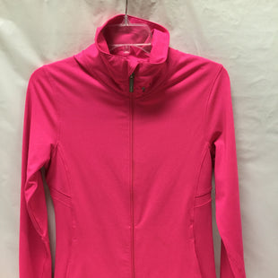 Primary Photo - BRAND: UNDER ARMOUR STYLE: ATHLETIC JACKET COLOR: HOT PINK SIZE: S SKU: 155-155227-1316