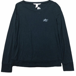 Primary Photo - BRAND: VICTORIAS SECRET STYLE: TOP LONG SLEEVE BASIC COLOR: BLACK SIZE: XS SKU: 155-155130-216877