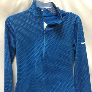 Primary Photo - BRAND: NIKE APPAREL STYLE: ATHLETIC JACKET COLOR: BLUE SIZE: M SKU: 155-155224-15538