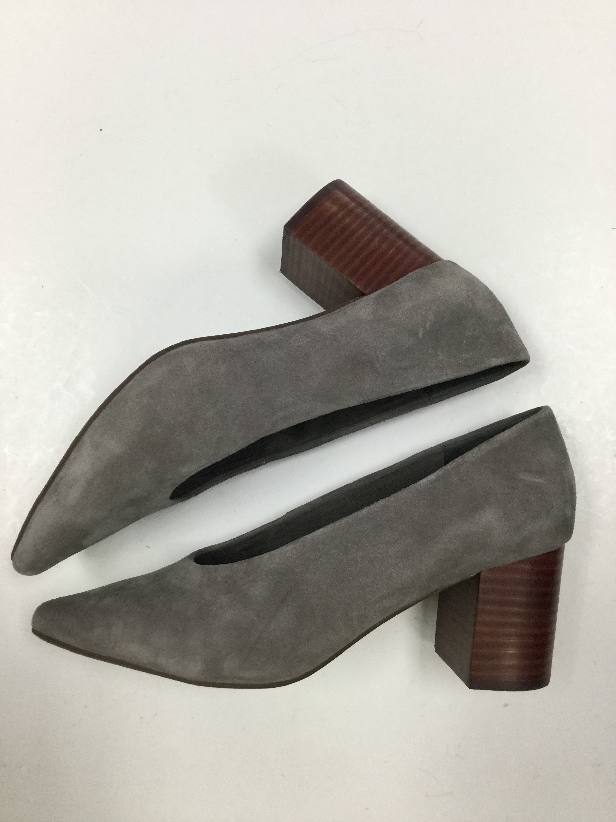Photo #1 - BRAND: SEYCHELLES <BR>STYLE: SHOES HIGH HEEL <BR>COLOR: GREY <BR>SIZE: 8.5 <BR>SKU: 155-155224-12574