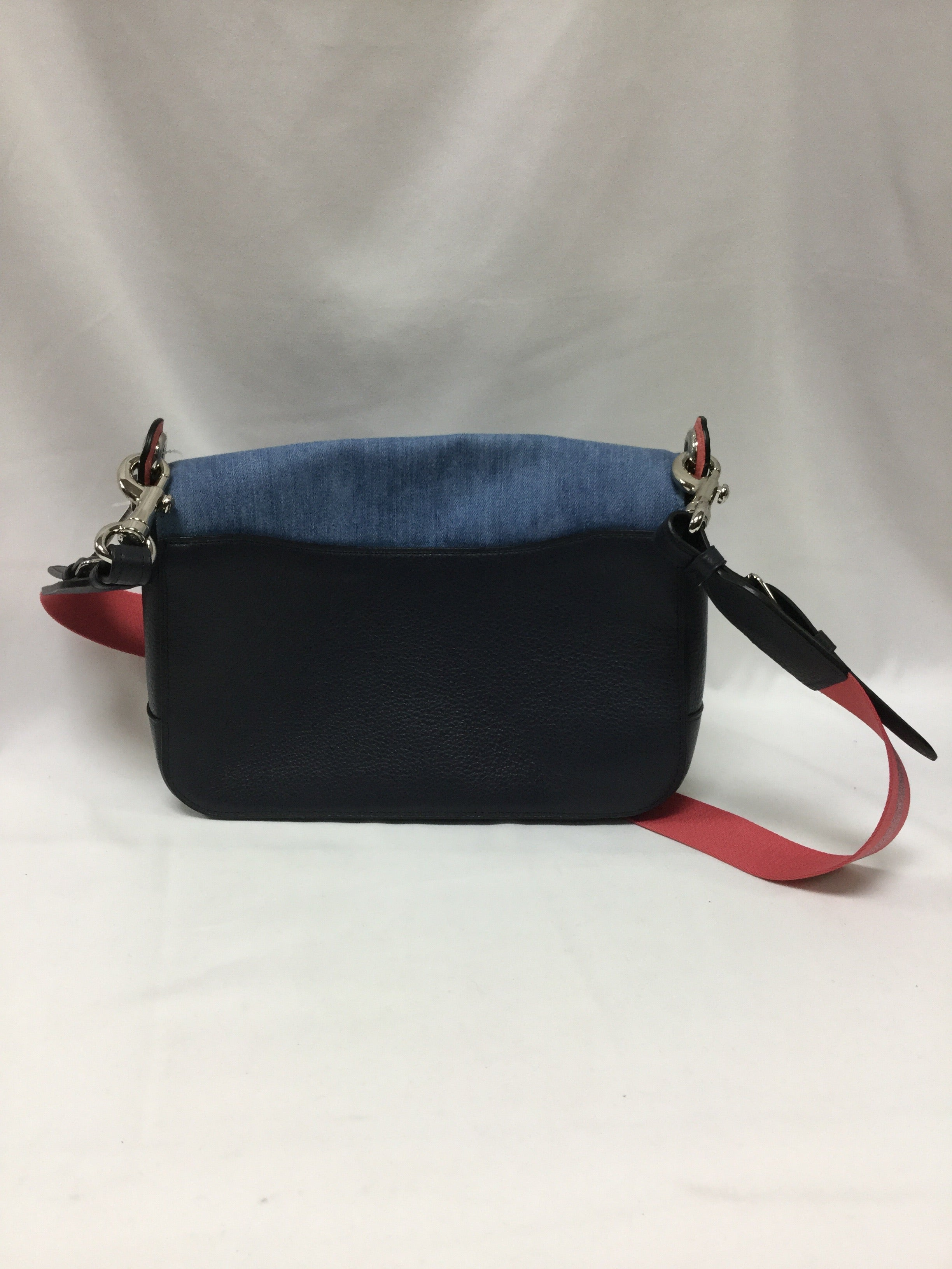 Photo #2 - BRAND: COACH <BR>STYLE: HANDBAG DESIGNER <BR>COLOR: DENIM <BR>SIZE: MEDIUM <BR>SKU: 155-155201-17510