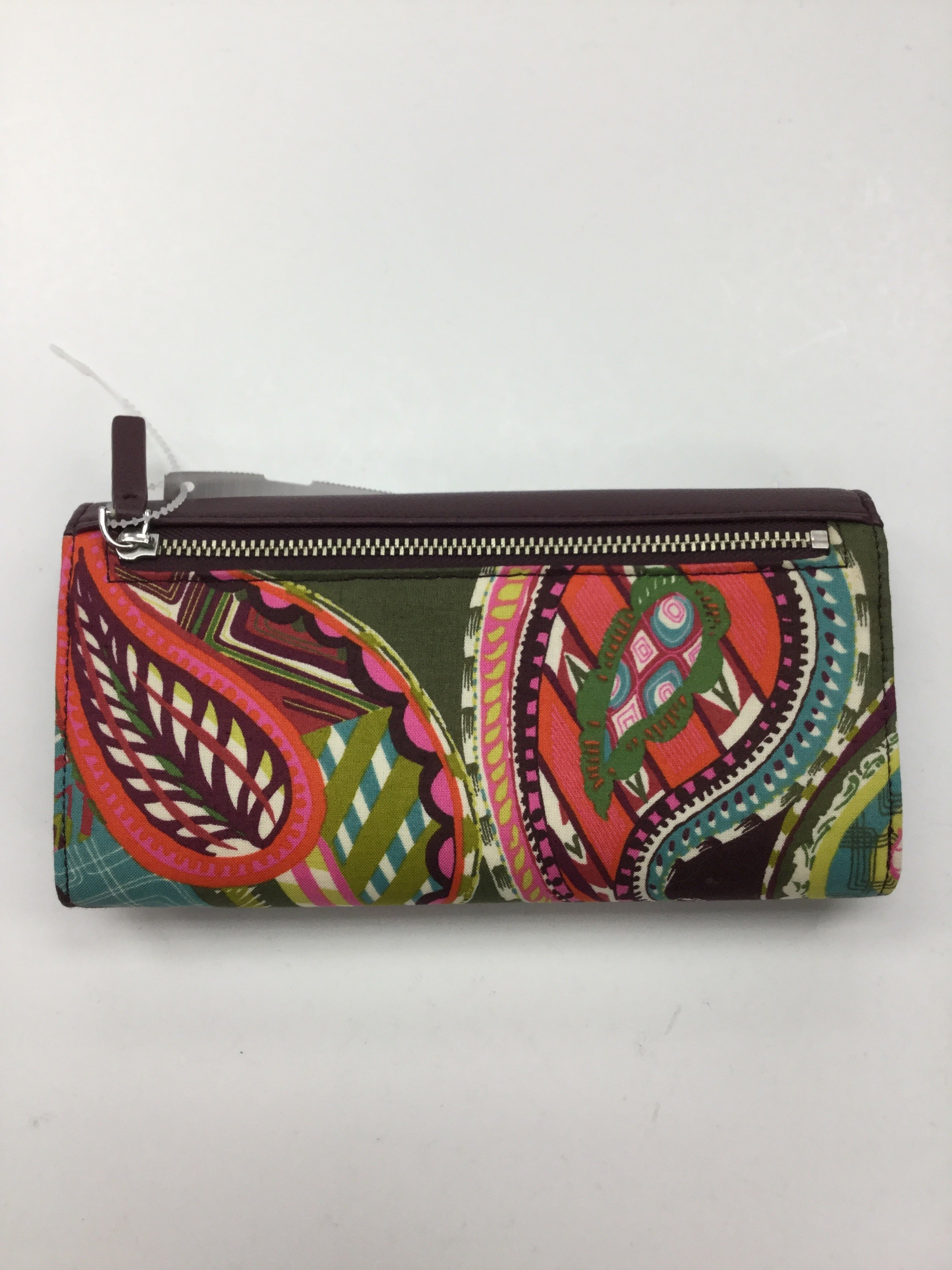 Photo #1 - BRAND: VERA BRADLEY <BR>STYLE: WALLET <BR>COLOR: PAISLEY <BR>SIZE: LARGE <BR>OTHER INFO: NEW! <BR>SKU: 155-155130-206841