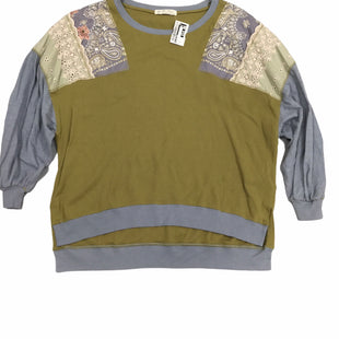 Primary Photo - BRAND: WE THE FREE STYLE: TOP LONG SLEEVE COLOR: OLIVE SIZE: L SKU: 155-15545-208845