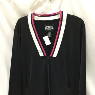 Primary Photo - BRAND: VICTORIAS SECRET STYLE: ATHLETIC JACKET COLOR: BLACK SIZE: S SKU: 155-155185-6459