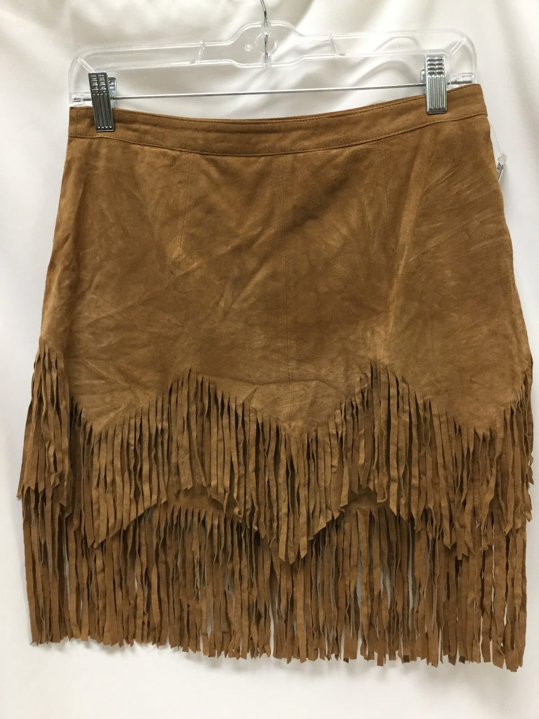 Primary Photo - BRAND: FREE PEOPLE <BR>STYLE: SKIRT <BR>COLOR: CAMEL <BR>SIZE: S <BR>SKU: 155-15545-209121