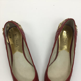 Primary Photo - BRAND: MICHAEL BY MICHAEL KORS STYLE: SHOES FLATS COLOR: RED SIZE: 6.5 SKU: 155-155215-116R