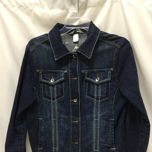 Primary Photo - BRAND: CHRISTOPHER AND BANKS STYLE: BLAZER JACKET COLOR: DENIM SIZE: M SKU: 155-155130-211347