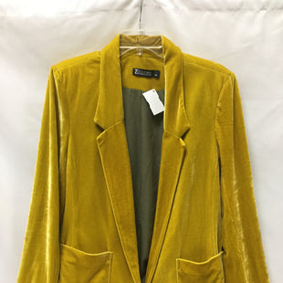 Primary Photo - BRAND: NEW YORK AND CO STYLE: BLAZER JACKET COLOR: YELLOW SIZE: L SKU: 155-155178-10631