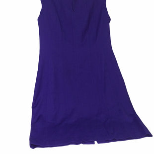 Primary Photo - BRAND: IVANKA TRUMP STYLE: DRESS SHORT SLEEVELESS COLOR: PURPLE SIZE: L SKU: 155-155224-20551