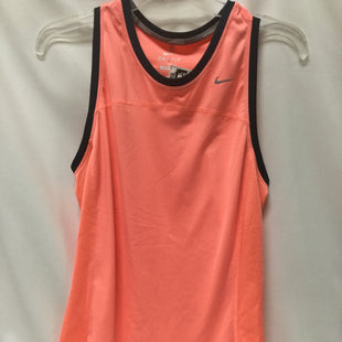 Primary Photo - BRAND: NIKE APPAREL STYLE: ATHLETIC TANK TOP COLOR: CORAL SIZE: L SKU: 155-155220-8877