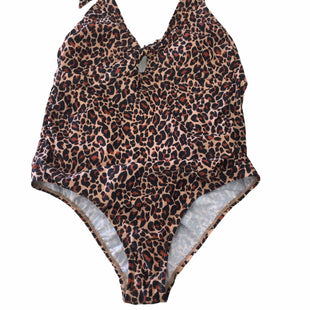 Primary Photo - BRAND:    CLOTHES MENTOR STYLE: SWIMSUIT COLOR: ANIMAL PRINT SIZE: L SKU: 155-155178-11172