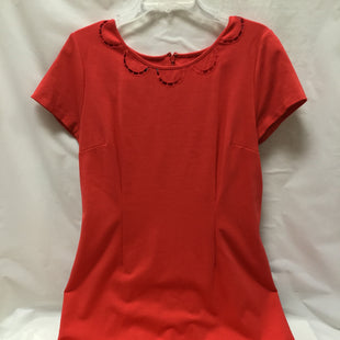 Primary Photo - BRAND: TALBOTS STYLE: DRESS SHORT SHORT SLEEVE COLOR: CORAL SIZE: L SKU: 155-155130-206959