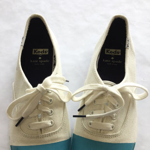 Primary Photo - BRAND: KATE SPADE STYLE: SHOES FLATSCOLOR: MULTI SIZE: 9 SKU: 155-15545-200353CREAM AND BLUE