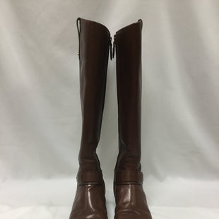 Primary Photo - BRAND: TORY BURCH STYLE: BOOTS KNEE COLOR: BROWN SIZE: 7 SKU: 155-155130-214767