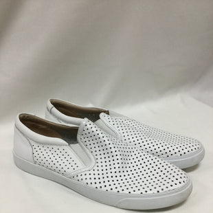 Primary Photo - BRAND: CLARKS STYLE: SHOES FLATS COLOR: WHITE SIZE: 10 SKU: 155-155224-3755