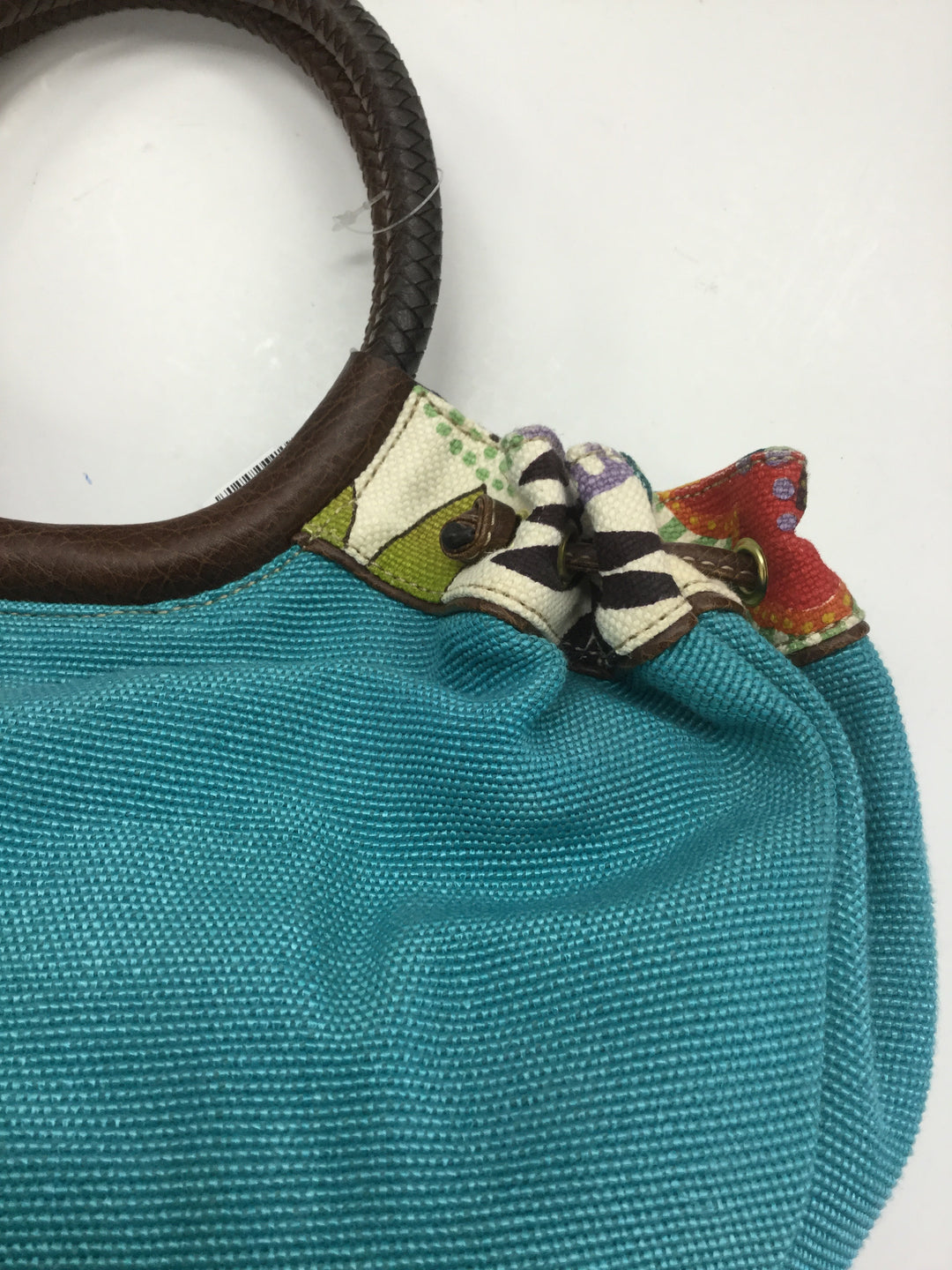 Photo #4 - BRAND: RELIC <BR>STYLE: HANDBAG <BR>COLOR: TURQUOISE <BR>SIZE: LARGE <BR>SKU: 155-155224-9164