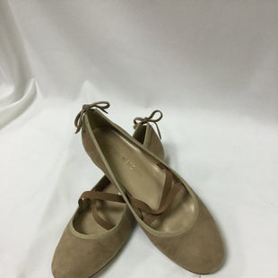 Primary Photo - BRAND: STUART WEITZMAN STYLE: SHOES FLATS COLOR: BROWN SIZE: 8 OTHER INFO: NOTED SKU: 155-155178-10586