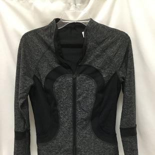 Primary Photo - BRAND: LULULEMON STYLE: ATHLETIC JACKET COLOR: BLACK SIZE: 6 SKU: 155-15545-209432