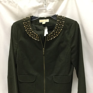 Primary Photo - BRAND: MICHAEL BY MICHAEL KORS STYLE: BLAZER JACKET COLOR: OLIVE SIZE: M SKU: 155-155185-6093