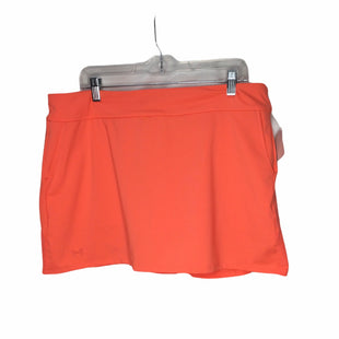 Primary Photo - BRAND: UNDER ARMOUR STYLE: ATHLETIC SKIRT SKORT COLOR: NEON SIZE: XL SKU: 155-155224-20756
