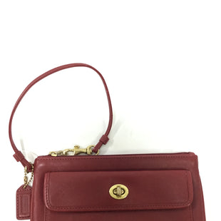 Primary Photo - BRAND: COACH STYLE: WRISTLET COLOR: RED OTHER INFO: WEAR SKU: 155-15599-236723