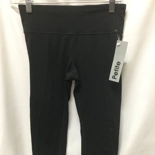 Primary Photo - BRAND: GAPFIT STYLE: ATHLETIC CAPRIS COLOR: BLACK SIZE: PETITE   SMALL SKU: 155-155185-8127