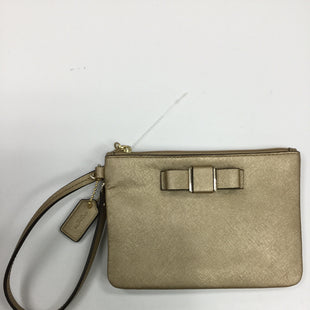 Primary Photo - BRAND: COACH STYLE: WRISTLET COLOR: GOLD SKU: 155-155187-21262