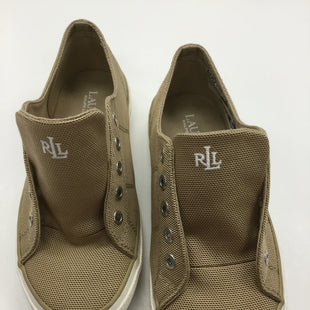 Primary Photo - BRAND: RALPH LAUREN STYLE: SHOES ATHLETIC COLOR: TAN SIZE: 7 OTHER INFO: NOTED - NO SHOELACESSKU: 155-15545-205601