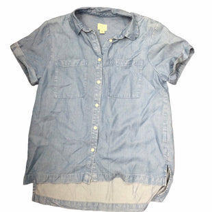 Primary Photo - BRAND: A NEW DAY STYLE: TOP SHORT SLEEVE COLOR: DENIM SIZE: XS SKU: 155-155215-3554