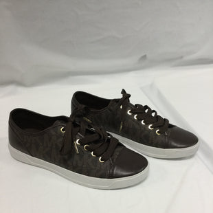 Primary Photo - BRAND: MICHAEL BY MICHAEL KORS STYLE: SHOES ATHLETIC COLOR: BROWN SIZE: 9 SKU: 155-15599-229280