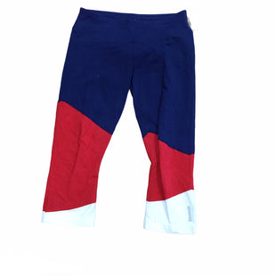 Primary Photo - BRAND: REEBOK STYLE: ATHLETIC CAPRIS COLOR: RED BLUE SIZE: M SKU: 155-155215-4523