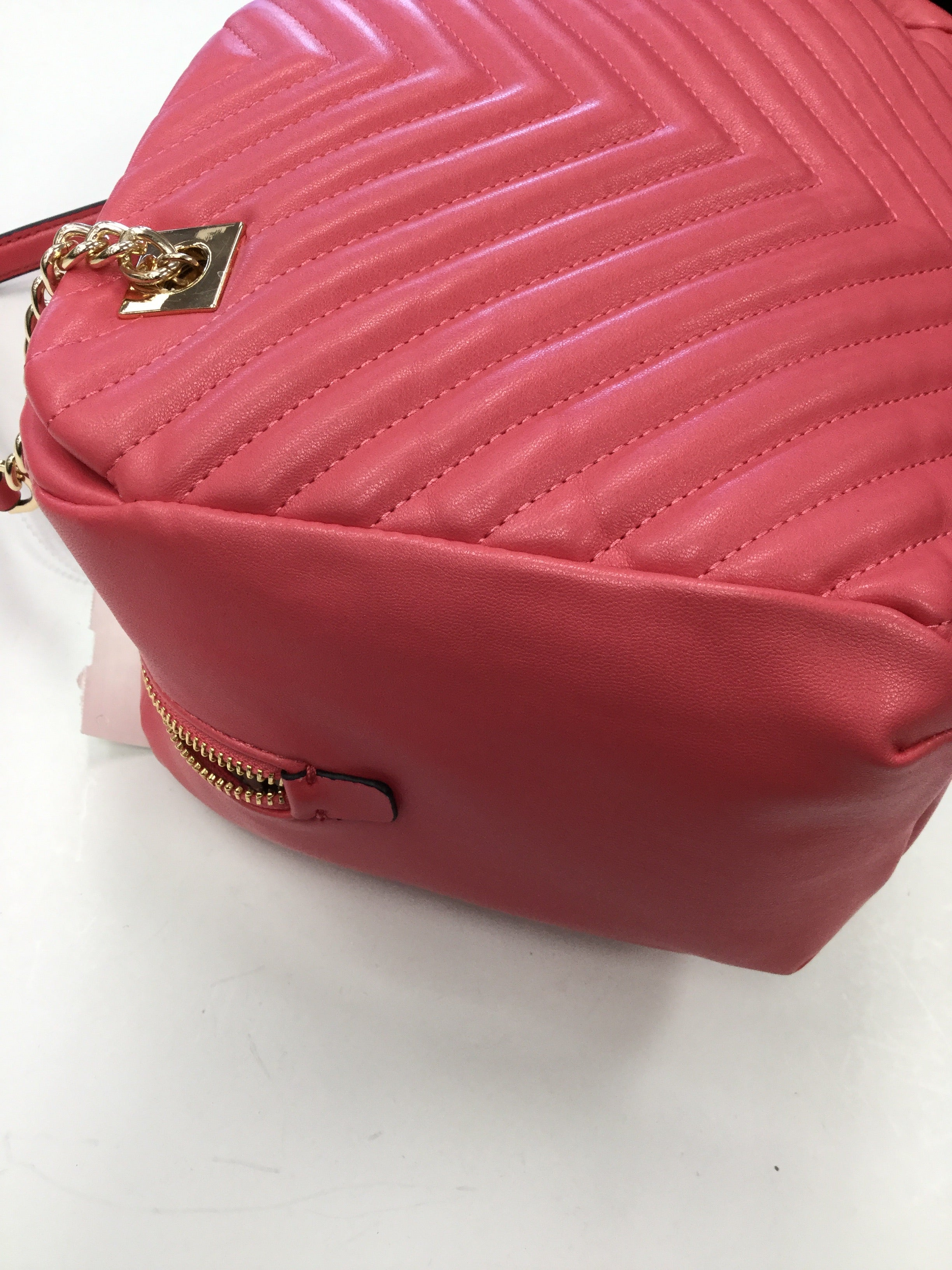 Photo #2 - BRAND: A NEW DAY <BR>STYLE: HANDBAG <BR>COLOR: CORAL <BR>SIZE: MEDIUM <BR>SKU: 155-155130-203947