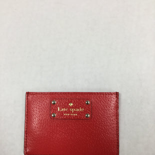 Primary Photo - BRAND: KATE SPADE STYLE: COIN PURSE COLOR: RED SIZE: SMALL SKU: 155-155220-1678